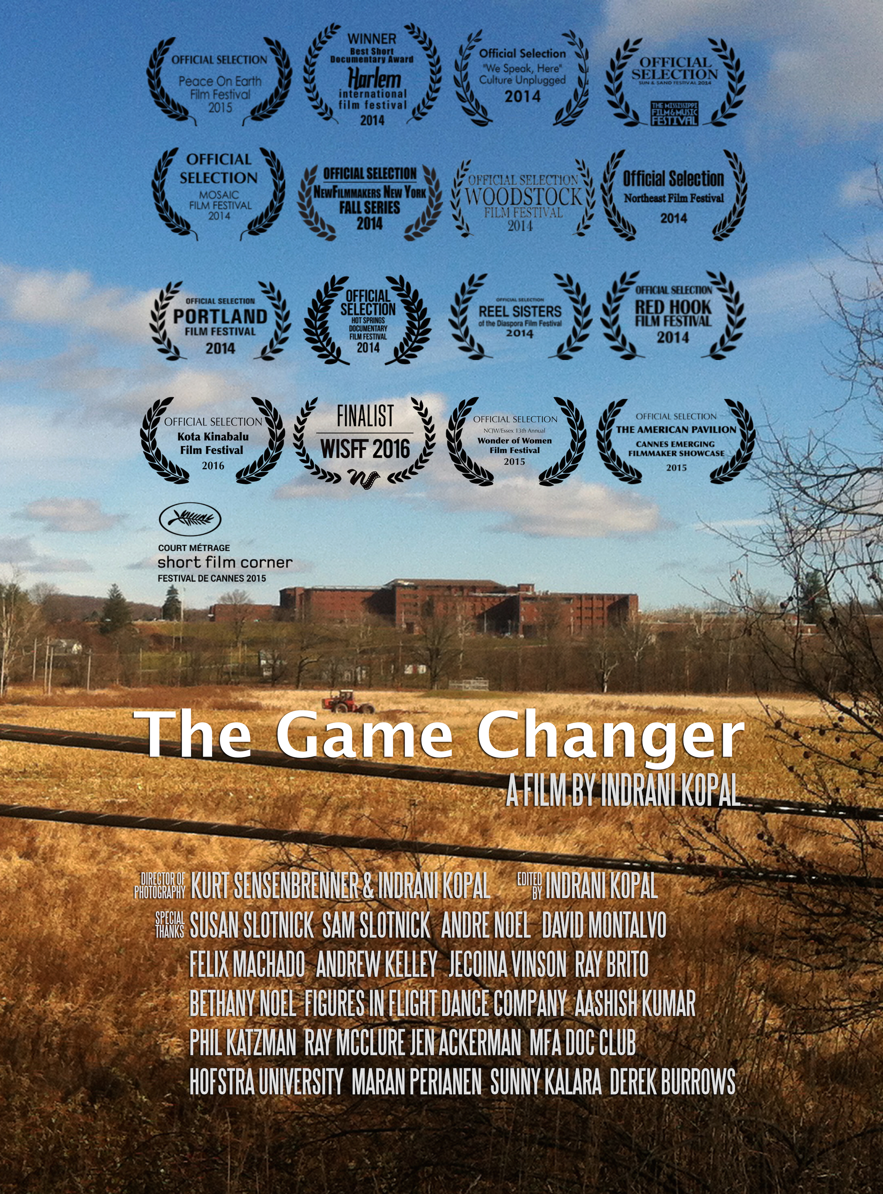 The Game Changer (US, 2014, 13-min)